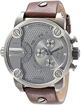 Diesel DZ7258 Men's SBA Brown Leather Quartz Watch