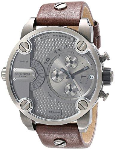 diesel-mens-dz7258-little-daddy-gunmetal-brown-leather-watch