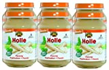 Holle Organic Baby Vegetable Jars - Parsnips - Multi-pack, 6 x 190g