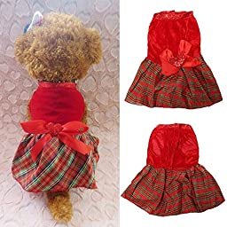 Saver Summer Puppy Pet Skirt Small Dog Dresses Cute Cat Dog Clothes Apparel Costumes