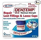 Dentemp O.S. One Step, Caps and Fillings Repair, 8+ Repairs, 2g Blister