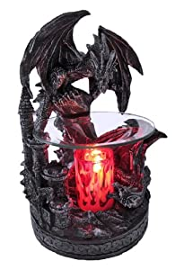 1 x dual dragons and castle electric oil warmer home kitchen - Dragon oil warmer ...
