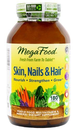 Megafood Skin, Nails & Hair Tablets, 180 Count (Ffp)