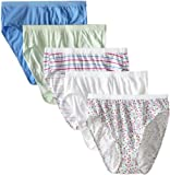 Fruit of the Loom 5pk Fit for Me Cotton Assorted Hi-Cut