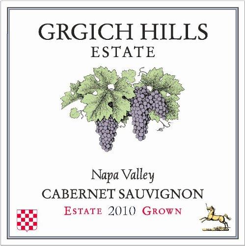 2010 Grgich Hills Estate Napa Valley Cabernet Sauvignon 750 Ml