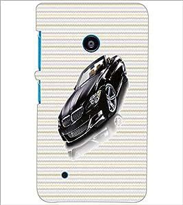 PrintDhaba Car D-4740 Back Case Cover for NOKIA LUMIA 530 (Multi-Coloured)