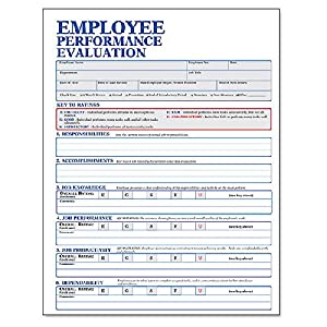 performance evaluation forms