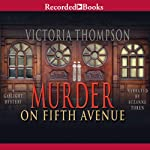 Murder on Fifth Avenue: A Gaslight Mystery, Book 14 (       UNABRIDGED) by Victoria Thompson Narrated by Suzanne Toren
