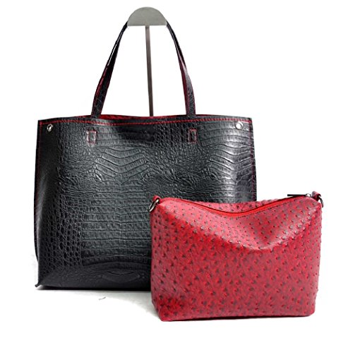 patrizia-luca-classic-reversible-alligator-and-ostrich-2-in-1-tote-black-and-red