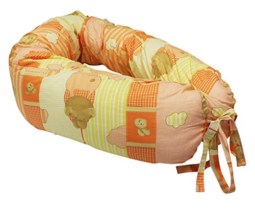 Poupy 808.6 Cuscino Neonatale, Colori Assortiti