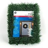 GE 18' Indoor Outdoor Pine Artificial Garland w Clear Incandescent Lights