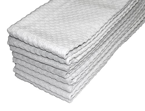 Http Ebay Com Itm Cotton Craft 8 Pack Terry Waffle Weave Kitchen Towels White 100 Pure 2 371276633852