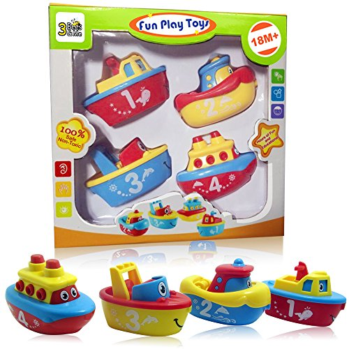 3-Bees-Me-Bath-Toys-for-Boys-and-Girls-Magnet-Boats-for-Toddlers-and-Older-Kids-Fun-and-Educational-4-Boat-Set