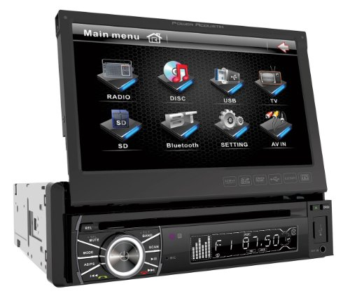 Power Acoustik PTID-8920B In-Dash DVD AM/FM Receiver with 7-Inch Flip-Out Touchscreen Monitor and USB/SD Input (C10 Chevy Truck Parts 1973 1988 compare prices)