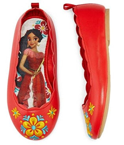 Disney Collection Elena of Avalor Flat Costume Shoes