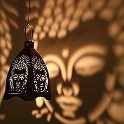 Buddha Hanging Tea light Holder(small)
