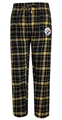 "Pittsburgh Steelers NFL ""Ultimate"" Men's Flannel Pajama Pants"