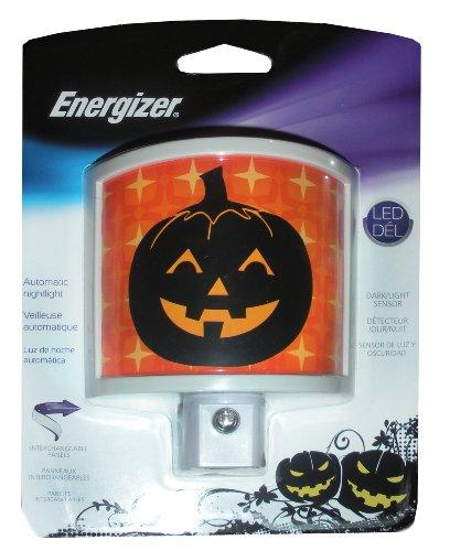 "Energizer Automatic ""Pumpkin - Stars"" Led Night Light front-675058"
