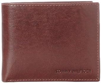 Tommy Hilfiger Mens York Passcase汤米真皮大钱包,$23.99