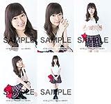 指原莉乃 公式生写真 HKT48 2016年08月 個別 ポロシャツ 5種コンプ