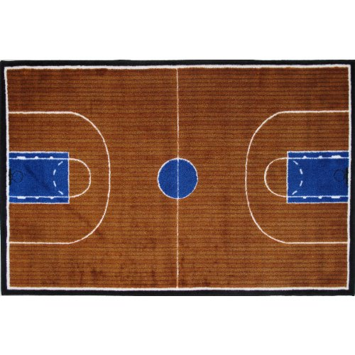 Basketball Court Area Rug 31