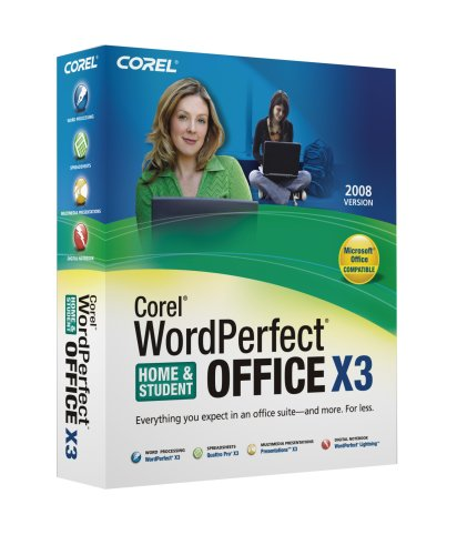 Corel Wordperfect Office X3 Home & Student Edition 2008 - Windows