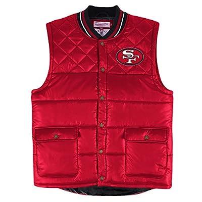 "San Francisco 49ers Mitchell & Ness NFL ""Snap"" Throwback Vest Jacket"