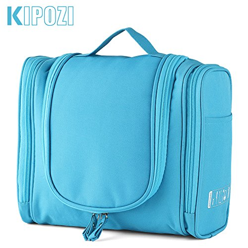 92eeb6bbf9e KIPOZI Hanging Toiletry Bag for Men   Women Rugged   Water Resistant with  Mesh Pockets