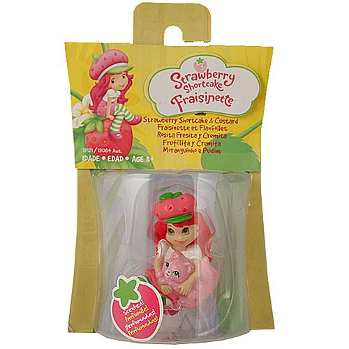 Strawberry Shortcake Hasbro Basic Figure Strawberry Shortcake with Custard - 1