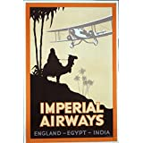 Tut-mania! - Imperial Airways Poster