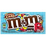New Birthday Cake M&M's 39.7g - American Candy m&ms