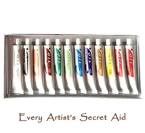 daveliou-oil-paint-set-12-non-toxic-oil-paints-32ml-vivid-colours