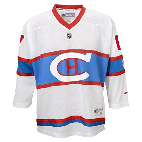 NHL Montreal Canadiens Max Pacioretty #67 Boys 4-7 Winter Classic Replica Jersey, 5/6, Blue