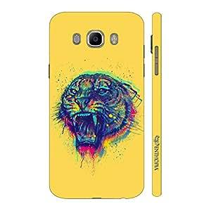 Enthopia Designer Hardshell Case Tiger Roar Back Cover for Samsung Galaxy J7( 2016)