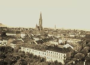 Freiburg im Breisgau - 5 historische Fotografien um 1900 (Reproduktionen) - Ortsansicht / Münster / Blick vom Rebgut Sonnenberg / Günterstal / Freiburg vom Lorettoberg aus - Format 13x18 cm