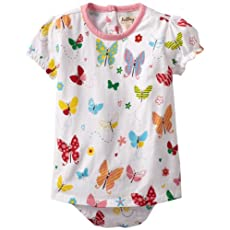 Hatley - Baby Girls Infant One-Piece Dress, Butterflies, 12-18 Months