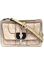 GUESS Confidential Logo Small Crossbody Bag, Rose