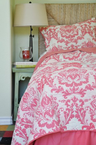Coral Quilt Bedding