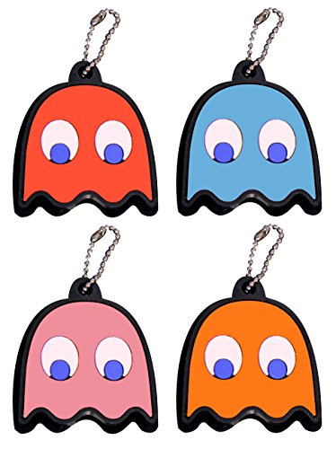 Pac-Man Ghost Key Covers (4 Pack)