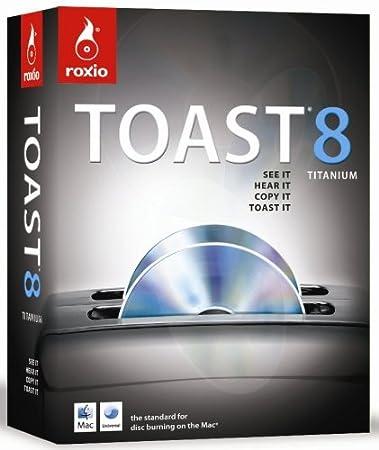 Roxio Toast 8 Titanium (Mac) [OLD VERSION]