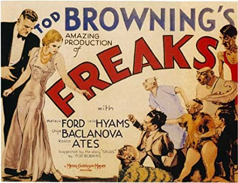 Freaks Poster Movie D 27x40 Wallace Ford Olga Baclanova Leila Hyams