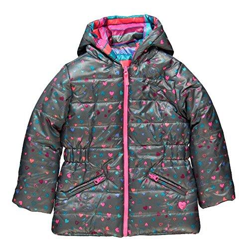 boboli - Parka Reversible Tejido Tecnico, Cappotto da bimba, multicolore (listado multicolor), 4 anni