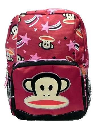 Paul Frank Red Julius Stars Backpack