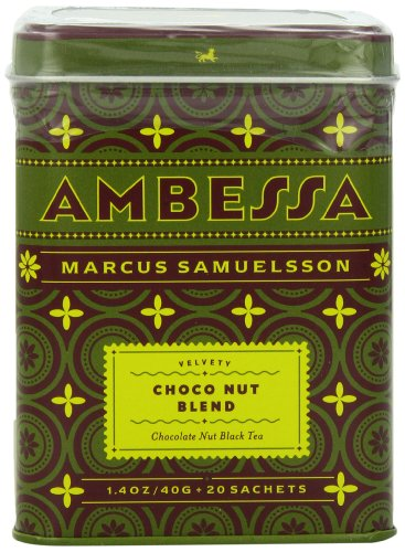Harney & Sons Ambessa Choco Nut Tea, 20 Tea Sachets