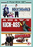 Superbad (2007) / Role Models (2009) / Kick-Ass (2010) - Triple Pack [DVD]