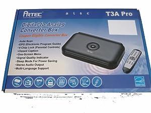 Artec T3A PRO Digital to Analog Converter Box