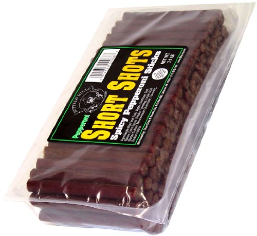 Buffalo Bills 2.1lbs Pepperoni Short Shots (120 beef and pork sticks per bag)