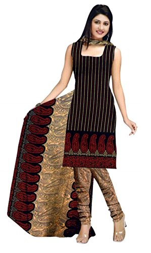 Araham Womens Synthetic Unstitched Salwar Suit Dress ...