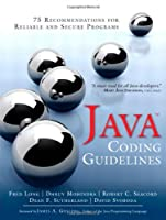 Java Coding Guidelines Front Cover
