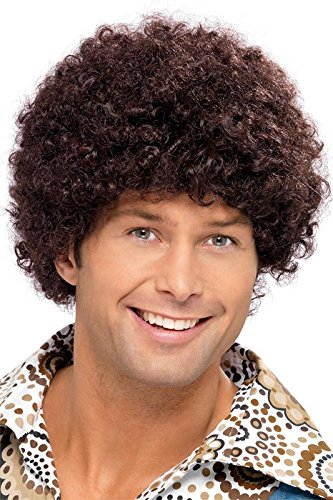 Smiffy's Men's 70's Disco Dude Wig